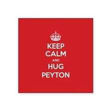Hug Peyton Sticker