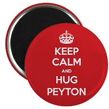 Hug Peyton Magnets