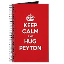 Hug Peyton Journal