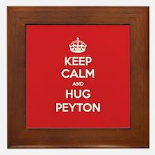 Hug Peyton Framed Tile