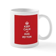 Hug Peyton Mugs