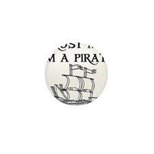 TRUST ME I'M A PIRATE Mini Button (10 pack)