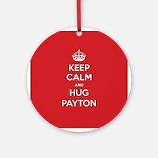 Hug Payton Ornament (Round)