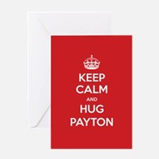 Hug Payton Greeting Cards