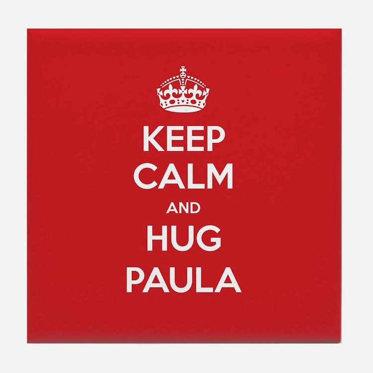 Hug Paula Tile Coaster