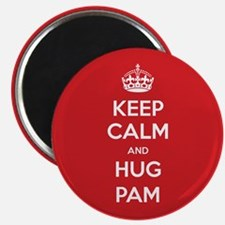 Hug Pam Magnets