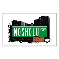 Mosholu Pkwy, Bronx, NYC Rectangle Decal