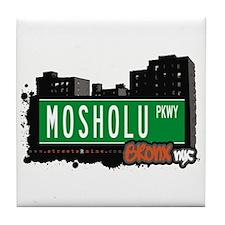 Mosholu Pkwy, Bronx, NYC Tile Coaster