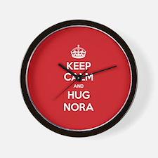 Hug Nora Wall Clock