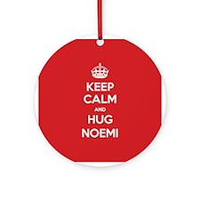 Hug Noemi Ornament (Round)
