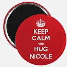 Hug Nicole Magnets