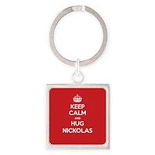 Hug Nickolas Keychains