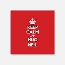 Hug Neil Sticker