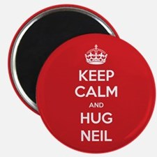 Hug Neil Magnets