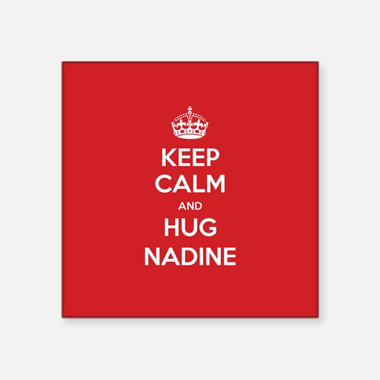 Hug Nadine Sticker
