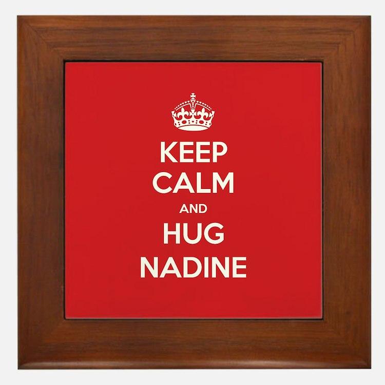 Hug Nadine Framed Tile