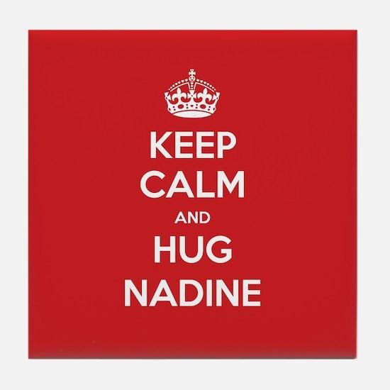 Hug Nadine Tile Coaster