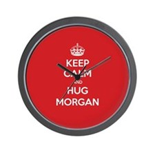 Hug Morgan Wall Clock