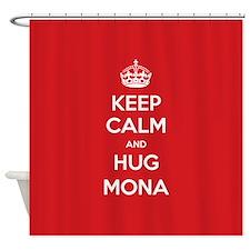Hug Mona Shower Curtain