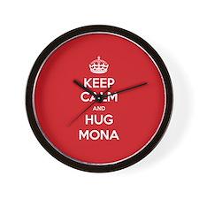 Hug Mona Wall Clock