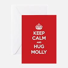 Hug Molly Greeting Cards