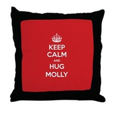 Hug Molly Throw Pillow