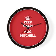 Hug Mitchell Wall Clock