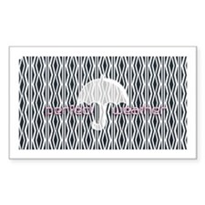Perfect Umbrella Weather Pink Logo Pattern Decal
