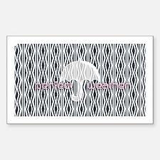 Perfect Umbrella Weather Pink Logo Pattern Decal