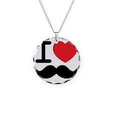 I love mustache Necklace