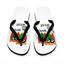 Wise Old Owl Flip Flops