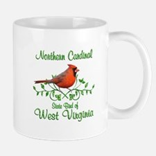 Cardinal West Virginia Bird Mug