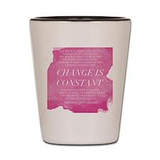 Greys Anatomy- Change  Shot Glass
