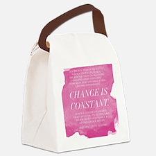 Greys Anatomy- Change  Canvas Lunch Bag