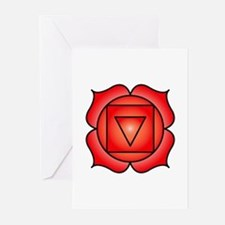 The Root Chakra Greeting Cards (Pk of 20)