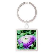 Purple Persian Buttercup Keychains