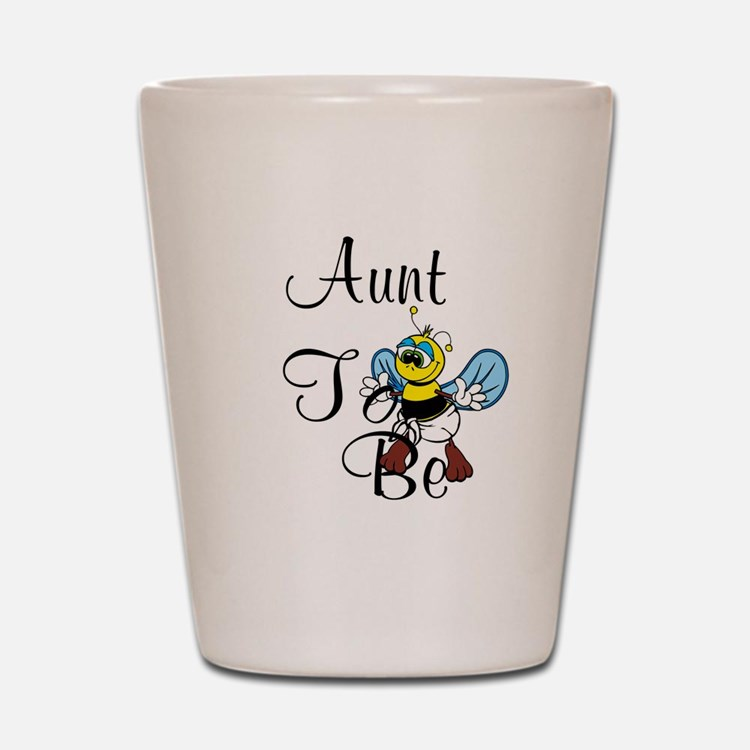 Playful Aunt To Be Shot Glass