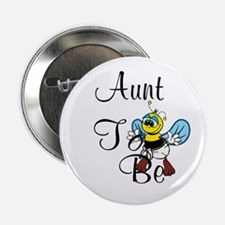 """Playful Aunt To Be 2.25"""" Button"""