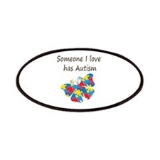 Someone I love has Autism (multi) Patches