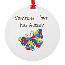 Someone I love has Autism (multi) Ornament