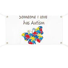 Someone I love has Autism (multi) Banner