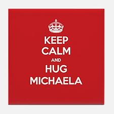Hug Michaela Tile Coaster