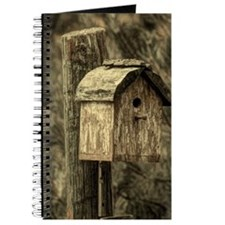 rustic western country farm bird house Journal