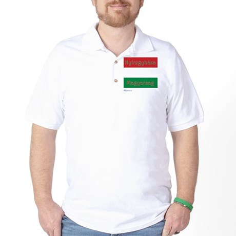 Nyiregyhaza, Hungary Golf Shirt