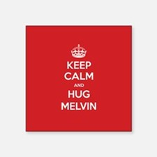 Hug Melvin Sticker
