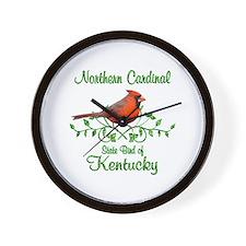 Cardinal Kentucky Bird Wall Clock