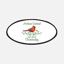 Cardinal Kentucky Bird Patches