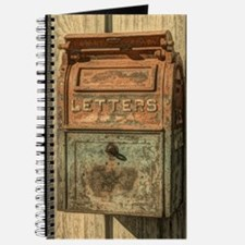 western country vintage mailbox Journal