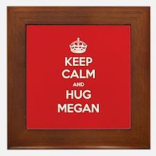 Hug Megan Framed Tile