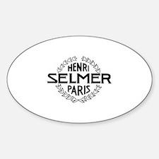 Henri Selmer PARIS Decal